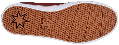 Baskets Shoes TX DC Burgundy Trase Femme Basses J Rouge gaUx4qw