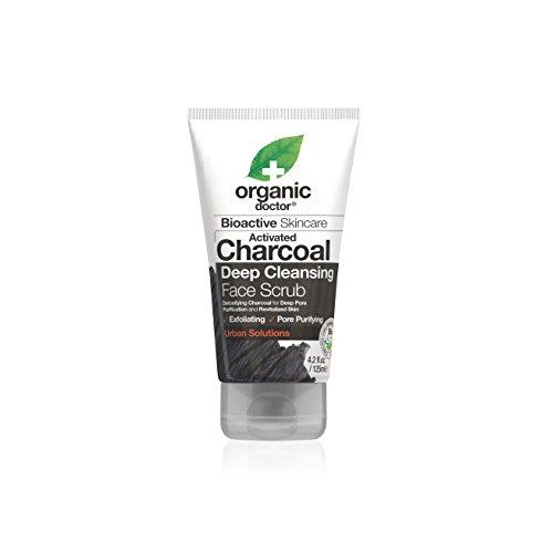 Organic Doctor Organic Charcoal Face Scrub, 4.2 Fluid Ounce