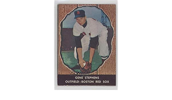 Amazoncom Gene Stephens Baseball Card 1958 Hires Root