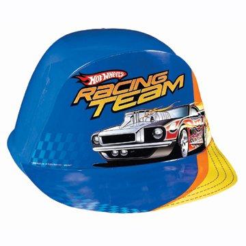 (Hot Wheels Blue Pit Crew Hat (1 Per)