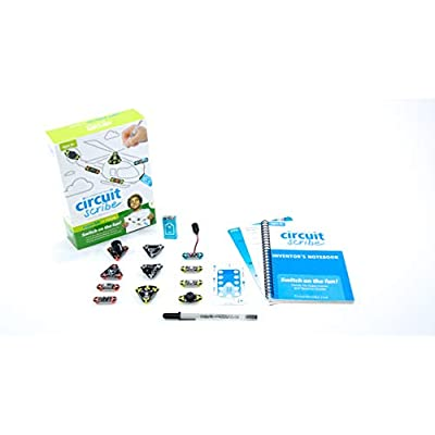 Circuit Scribe Super Kit: Draw Circuits Instantly – Includes Conductive Silver Ink Pen, and Everything You Need to Learn, Explore, and Create Your Own Circuits and Switches!: Toys & Games