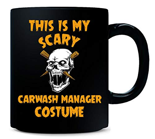 (This Is My Scary Carwash Manager Costume Halloween Gift -)