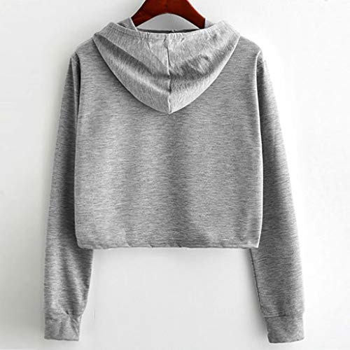 Women Sweatshirt Girl Plus Size Patchwork Long Sleeve Jumper Pullover Tops