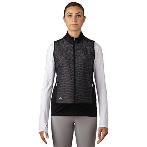 Ladies Wind Vest (adidas Golf Women's Technical Wind Vest, Black, X-Large)