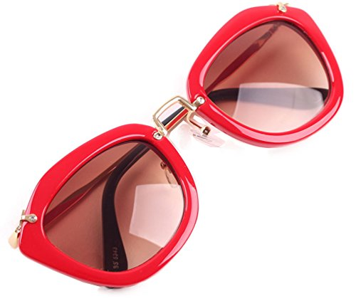Tansle Beyonce Sunglasses Amazing Designed Frame Cateye Lens - Sunglasses Beyonce With