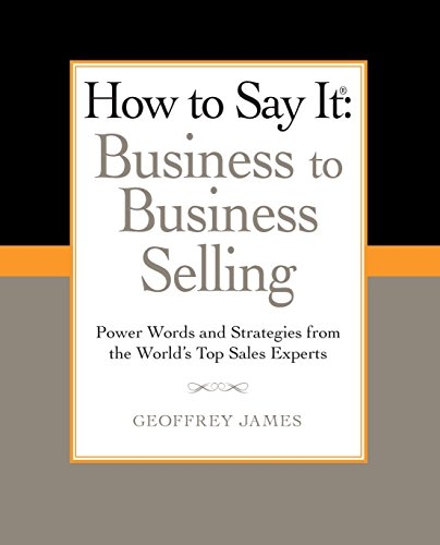 There are approximately 35 million business to business sales reps in the country selling everything from books and computers to furniture and flooring. They know as well as anyone that selling to other businesses is not the same as selling to consum...