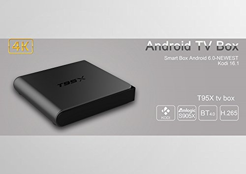 Zbfyzq T95x Network Television Set-top Box S905X hd Network Player 2G + 16G Android 6.0 by zbfyzq (Image #5)