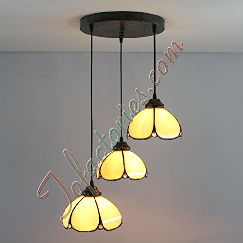 ETERN Continental Retro Creative Minimalist Pendant Light Chandeliers - 3 Lights