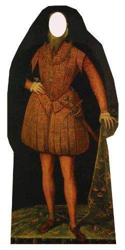 Tudor Man Stand in - Classroom Lifesize Cardboard Cutout / Standee / Standup ()