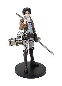 Attack on Titan Revival Armed Style Levi PVC Figura