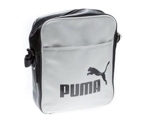 PUMA Borsa Messenger 069666 02 Bianco 9.5 liters