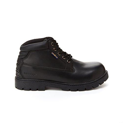Goodyear Mason Mens Chukka Boots - Stålhätta, Slip Och Oljebeständigt Svart