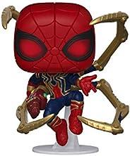 Funko - Avengers Endgame - Iron Spider with Nano Gauntlet Figurina de Colección, Multicolor, 45138