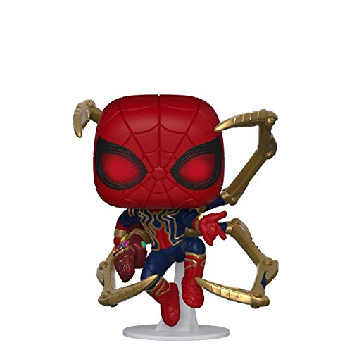Funko- Pop Marvel Endgame-Iron Spider w/NanoGauntlet Colctib Toy, Multicolor, Talla Unica (45138)