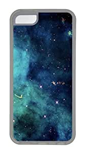Galaxy Custom Apple iPhone 5C Case TPU Case Cover Compatible with iPhone 5C Transparent