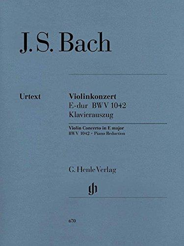 (Bach: Violin Concerto in E Major, BWV 1042)