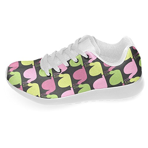 Artsadd Whimsical Pastel Snails Pattern Custom Brand New Running Shoes For Men
