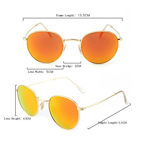Rétro Les Rondes Orange Verre Lentilles G15 Les Lunettes Véritable De Soleil De Optiques Femmes Hommes Et Cinéma rrUSd0x