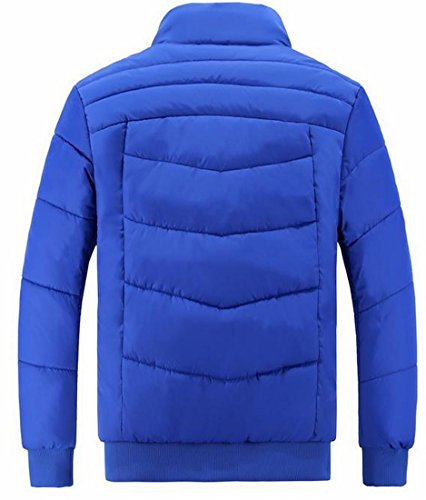 Solid UK Stand Jacket Padded Sale Outerwear Collar Hot Color Men Coat 1 W7YZ5qnaw