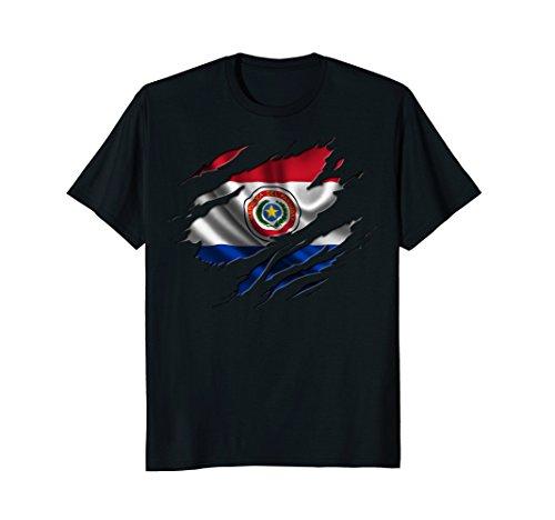 PARAGUAY T-shirt Paraguayan Flag Tee Travel Gift Souvenir - Paraguay Flag T-shirt