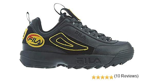 Fila Mens Disruptor II Custom Patch Sneakers: Amazon.es: Zapatos ...