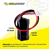Exell 3V 850mAh Lithium PLC Computer Backup Battery