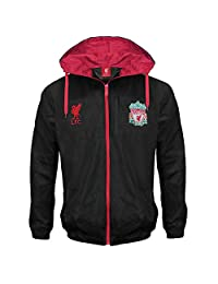 Liverpool Football Club Official Soccer Gift Mens Shower Jacket Windbreaker Lge