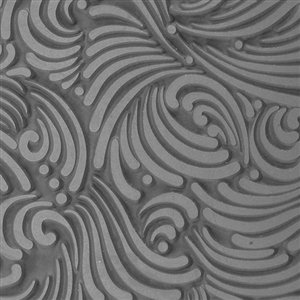 (Cool Tools - Flexible Texture Tile - Swirly Gig - 4