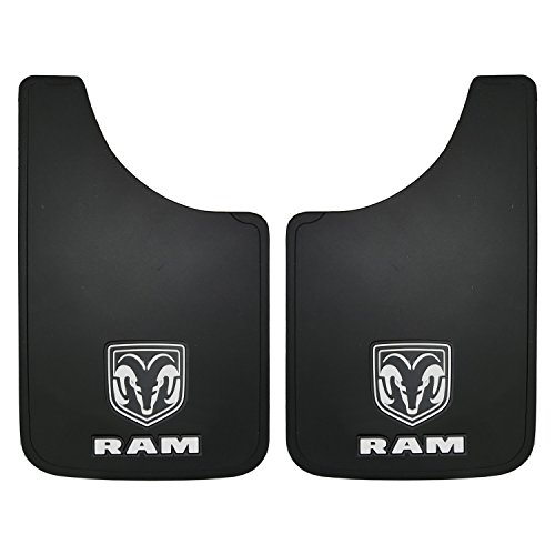 "Dodge Ram Logo Easy Fit Mud Guard  11""  - Set of 2"