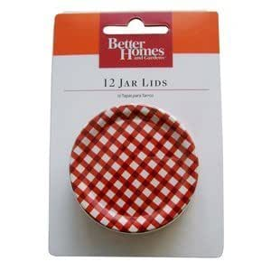 Better Homes And Gardens Jar Lids Two
