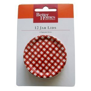 Better Homes and Gardens Jar Lids -- Two Packages, 12 Jar Lids Per Pack