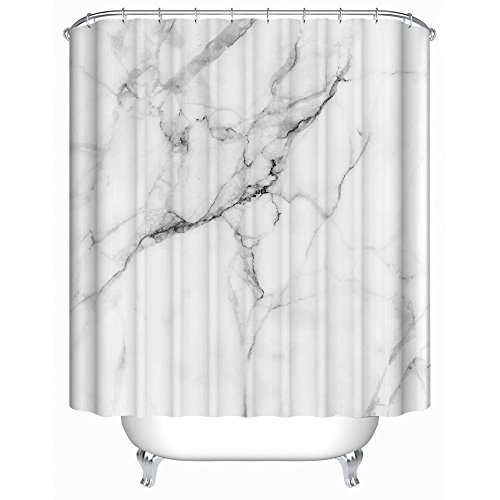 uphome-wild-symbol-marble-pattern-bathroom-shower-curtain-white-and-grey-polyester-fabric-bath-decor