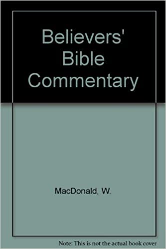 Believers Bible Commentary Old Testament William MacDonald