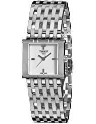 Tissot Womens T02118171 Six-T Mother-Of-Pearl Dial Watch