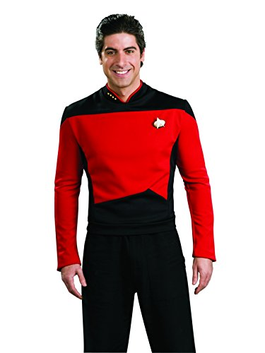 Rubie's Star Trek The Next Generation Deluxe Commander Picard Adult Costume Shirt, Small]()