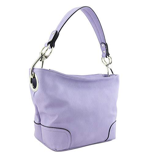 Purple Hobo Handbag - 2