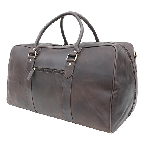 Vitali para hombre marca nuevo aceite envejecido bolsa de gimnasio de viaje fin de semana Bolso 9901 Oil Brown