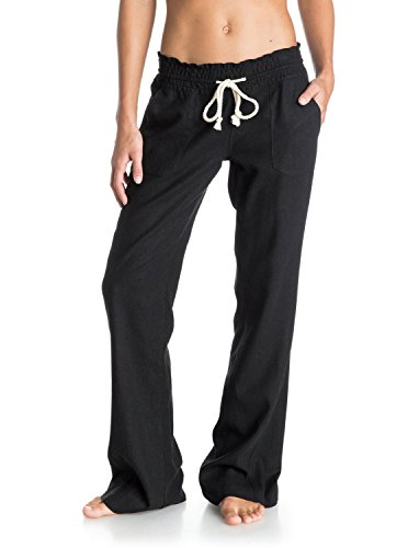 Roxy Junior's Ocean Side Soft Pant, True Black, X-Large