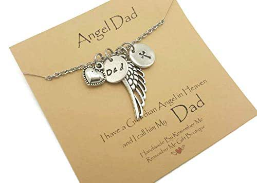Amazon.com: Memorial Necklace, Loss of Dad, Sympathy Gift ...