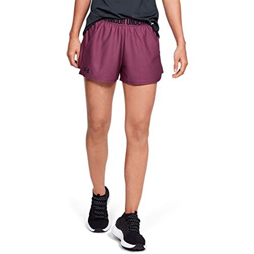 (Under Armour Play Up short 2.0, Level Purple//Black, X-Small)