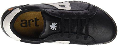 ART 1134 Memphis I Express, Zapatos de Cordones Derby Unisex Adulto Negro (Blackwhite)