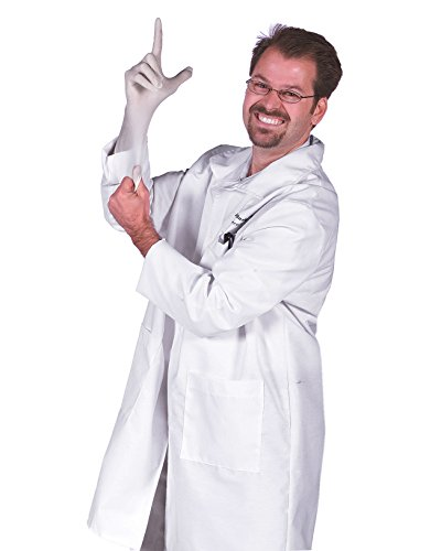 Lab Coat Harry Fingerman Doctor Funny Halloween Costumes Frat College Humor Sizes: One Size ()