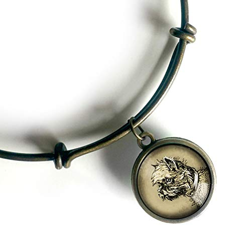 Brussels Griffon charm bracelet