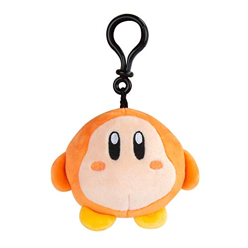Club Mocchi Mocchi- Kirby Waddle Clip-On | Super Soft | Great for Kids & Collectors