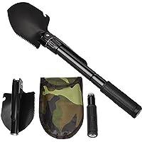 Oziral Military Folding Shovel Multipurpose Tool for...
