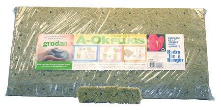 Grodan A-OK Starter Plugs 1.5'' x 1.5'' 98 Per Sheet Full Case of 30 Sheets