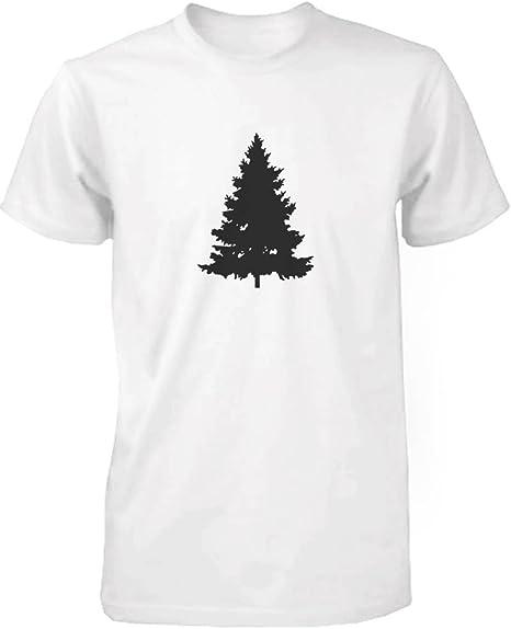365 Printing Daddy y Bebé a Juego Camiseta y Bebé Camiseta Set – Árbol de Navidad y Piñas: Amazon.es: Ropa y accesorios