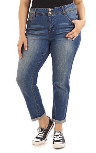 pour Angels Curvy Choisir Convertible Jeans couleur taille femmes ZZTrtqw