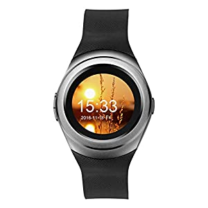 Kivors Bluetooth Smart Watch montre-bracelet Téléphone Fitness Sport Smart Watch Activity Tracker santé podomètre montre-bracelet pour Android Smartphones