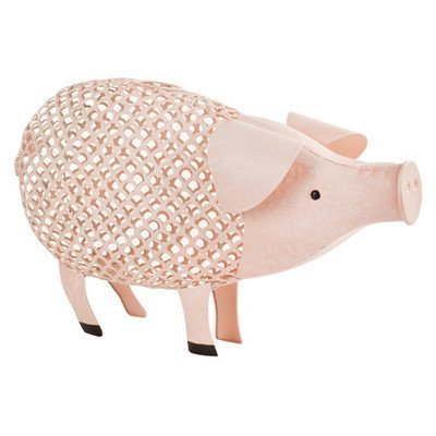 Country Cottage Pig Cork Holder by Twine - (Holds up to 120 corks)